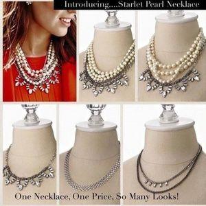 :: Stella & Dot [V] 4-in-1 Starlet Pearl Necklace